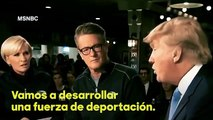 Hillary Clinton mocked the tweet, saying Trump wanted to deport Hispanics