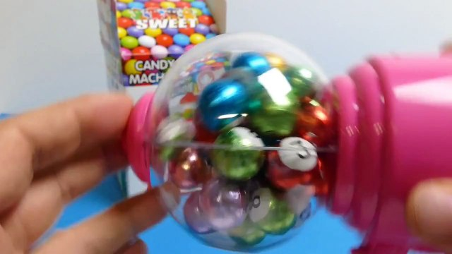 Pink Candy Machine   Machine with Balls    ガムボールマシーン