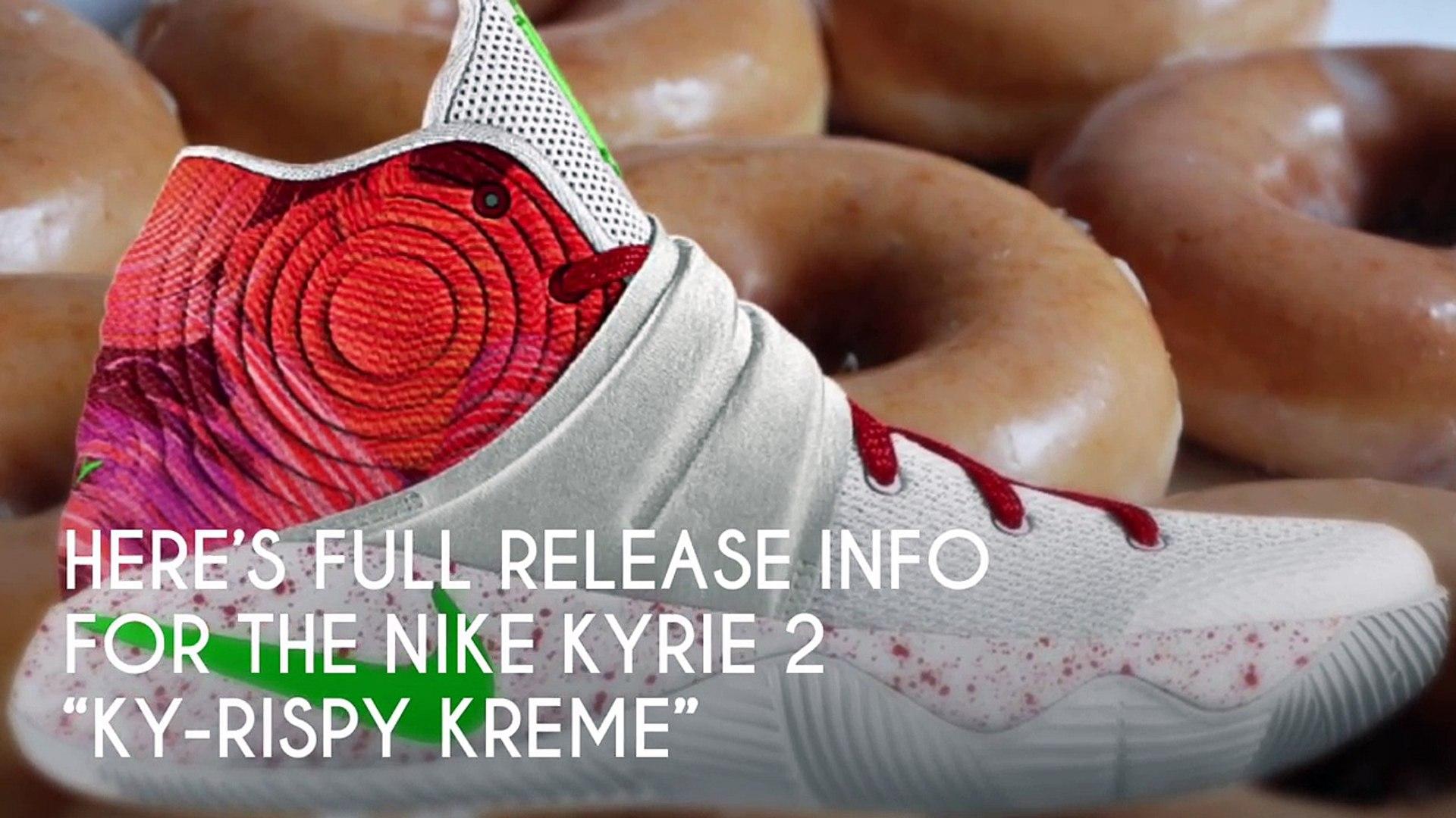 buy popular 73405 47698 Nike Kyrie Irving Krispy Kreme Sneakers   Rowlandayso215