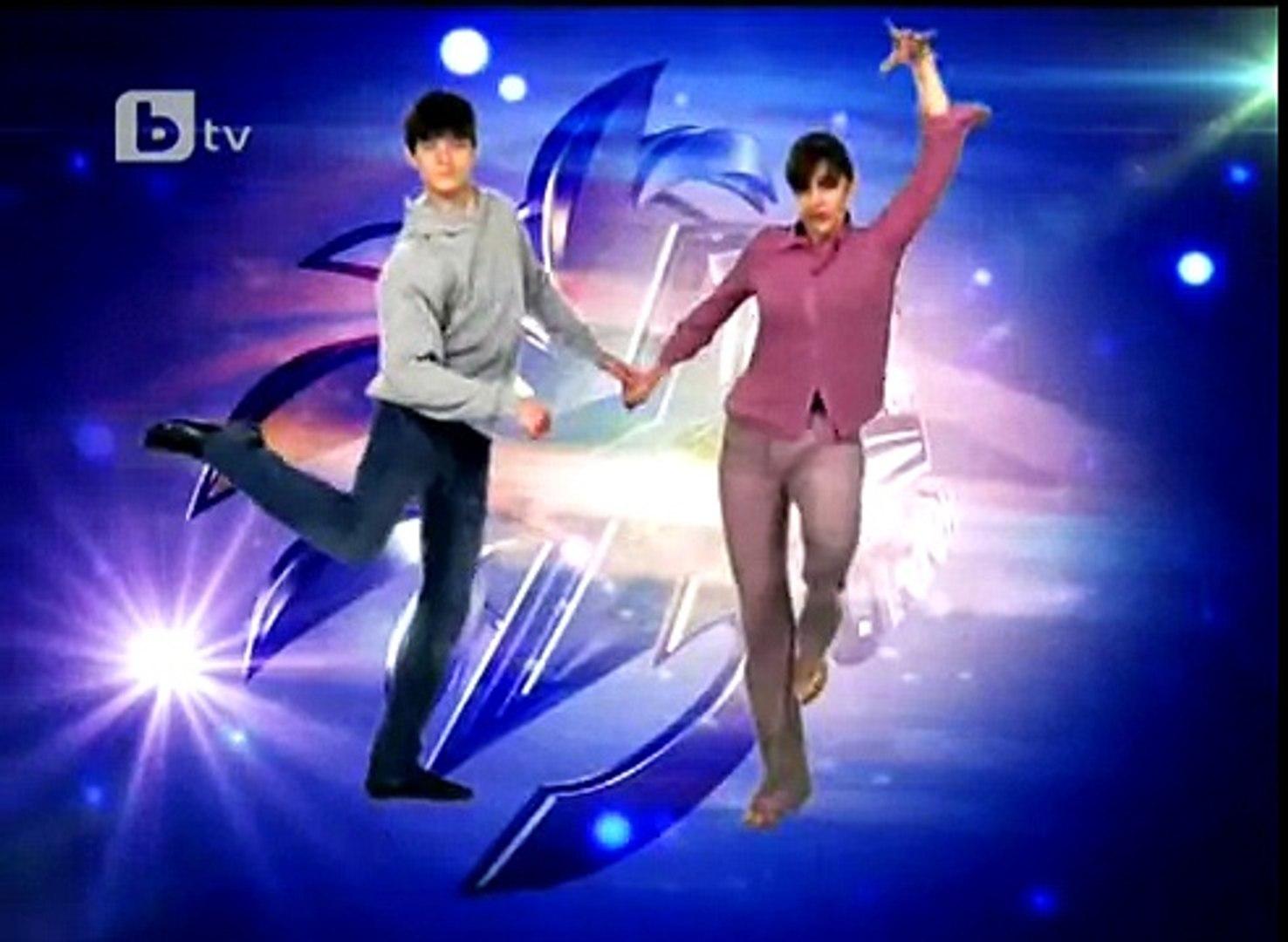 Майката и сина танцуват танго   Танцувай с мен 3 стаен   24 03 2011   VBOX7