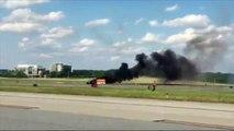 Un piloto muere al caer su avión durante espectáculo aéreo en Atlanta