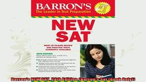 read here  Barrons NEW SAT 28th Edition Barrons Sat Book Only