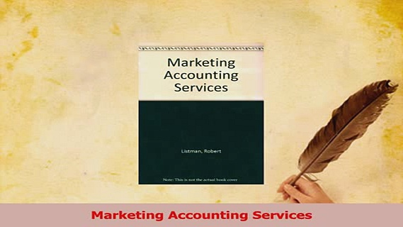 Read  Marketing Accounting Services Ebook Free