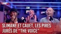 Slimane et Cauet, les pires jurés de The Voice - C'Cauet sur NRJ