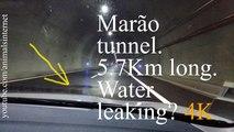 Marão tunnel leaking water? Water on the road at 01m 29s. Amarante - Vila Real. 5.7Km long | Túnel do Marão metendo água? Água na via a 01m e 29s. Amarante - Vila Real. 5.7Km de comprido | 4k UHD 2160p