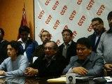Perú. 26 de Septiembre, organizaciones sindicales y políticas convocan a Paro Nacional