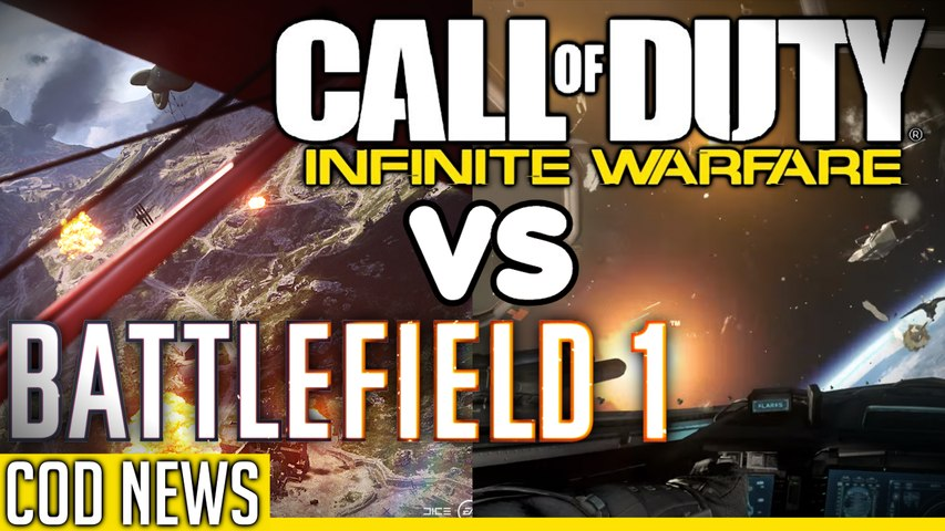 BATTLEFIELD 1 VS CALL OF DUTY INFINITE WARFARE! (COD NEWS) By HonorTheCall!