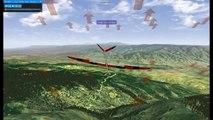 Real Flight 7 5 RC Glider Hovering