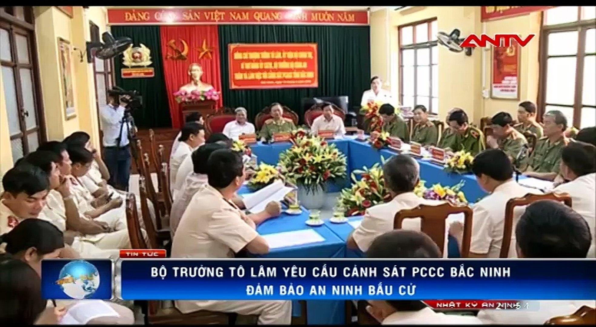 Bộ trưởng Tô Lâm: Đảm bảo tuyệt đối an toàn cháy nổ phục vụ bầu cử