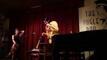 "Kat Edmonson and David Garza: ""Boogie Woogie Bugle Boy"" Live @ Bugle Boy; La Grange, Texas 4/29/2010"