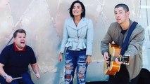 Watch Demi Lovato Put Nick Jonas' Dating Life On Blast During 'Carpool Karaoke!'