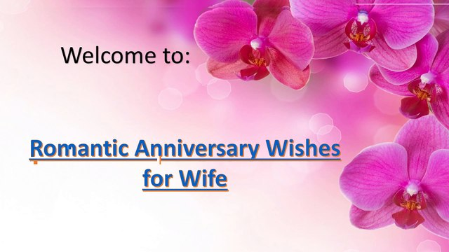Romantic Anniversary wishes for wife| Wedding Anniversary Wishes and MEessages