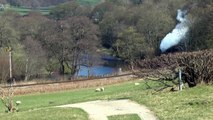 Llangollen Railway - 5199 - Glyndyfrdwy - 16/04/15