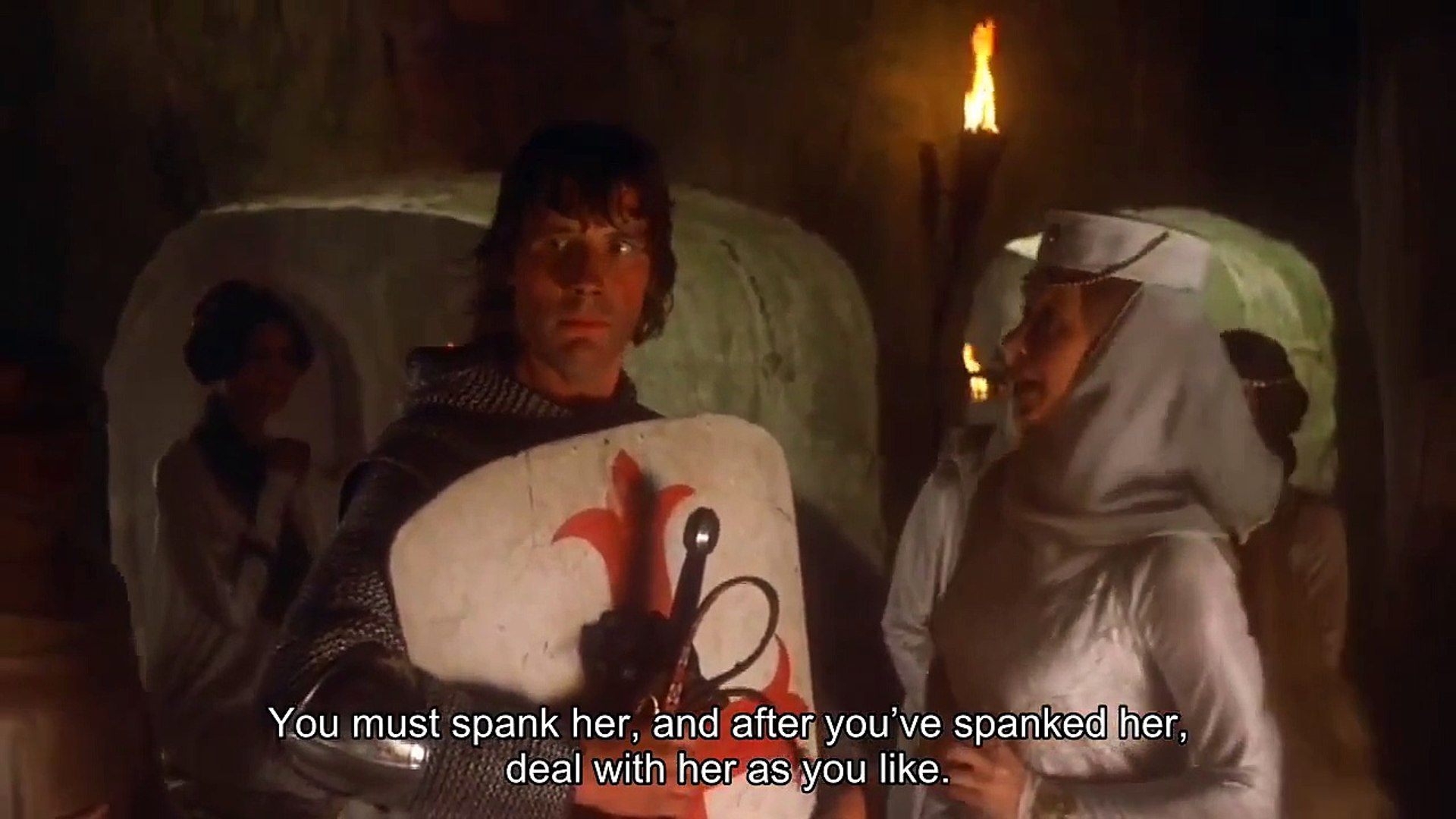 Image result for monty python spank me