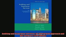 Enjoyed read  Auditing and Assurance Services An Intergrated Approach and ACL Software 12th Edition