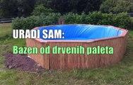 URADI SAM: Kako napraviti bazen od paleta