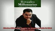 FREE DOWNLOAD  Rituales Millonarios Cambia Tus Rituales Cambia Tu Vida Spanish Edition  BOOK ONLINE