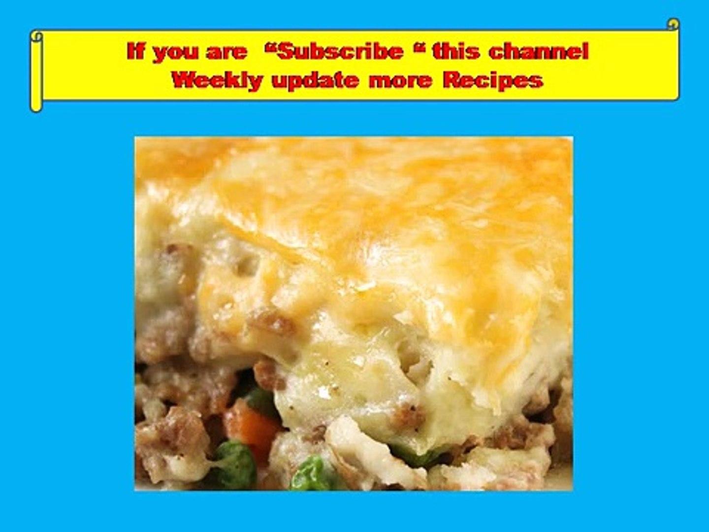 Shepherd's Pie -Healthy food,recipes,Kids recipes,funny hot recipes