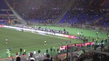 Ovazione e boato per Francesco Totti dopo il gol in Roma Torino. Doppietta per il Capitano