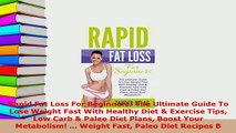 PDF  Rapid Fat Loss For Beginners The Ultimate Guide To Lose Weight Fast With Healthy Diet  Read Full Ebook