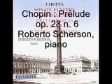 Chopin Préludes op. 28 n. 6,9 et 20 (extrait) Roberto Scherson, piano