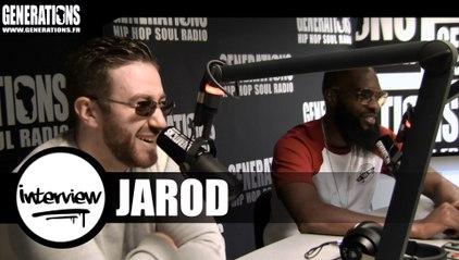 Jarod - Interview #Caméléon (Live des studios de Generations)