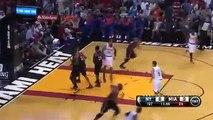 LeBron James vs Carmelo Anthony Highlights Knicks vs Heat February 27, 2014 NBA 2013 2014