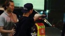 SONG JOONG KI : Back to Korea at SWB Airport