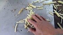 New model potato cutting machine /potato slicer machine/potato chips cutting machine