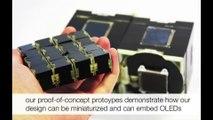 Estos cubos con pantalla táctil podrían ser tu próximo móvil