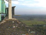 Slechtvalken De Mortel, 31-05-09 6:25 Slechts even op bezoek.