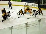Quinnipiac Women's Ice Hockey Goal vs. Clarkson (Jan. 28, 2011)