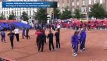 Barrages, première phase de poules, Super 16 masculin, Sport Boules, Lyon 2016