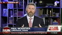 Paul McKeever on Byline (Brian Lilley, Sun TV)