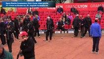 Seconde partie, première phase de poules, Super 16 masculin, Sport Boules, Lyon 2016