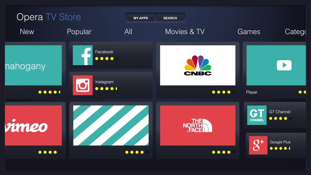Opera Tv Apps