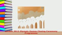 PDF  London 2012 Olympic Games Closing Ceremony Programme Free Books
