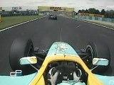 GP2 Series 2007 Magny-Cours accident Viso vue aérienne
