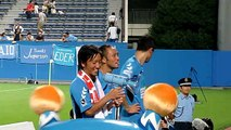 2010 J2第25節 ゴール裏 寺田選手 俺たち横浜ALEZ! 横浜FC