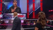 Dean Ambrose taunts Seth Rollins- Raw, Sept. 29, 2014