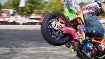 Best Stunts of Polish Stunt Cup 2016 Sport Bike Stunts