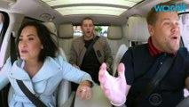 Demi Lovato, Nick Jonas Join James Corden on 'Carpool Karaoke'