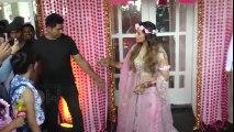 Karan Singh Grover and Bipasha Basu Mehendi Ceremony