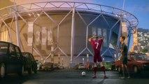 Football Up starring Cristiano Ronaldo, Wayne Rooney, Zlatan Ibrahimovic