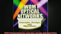DOWNLOAD FREE Ebooks  WDM Optical Networks Concepts Design and Algorithms Full Ebook Online Free