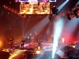 World War 3- Jonas Brothers World Tour July 15, 2009, Kevin Jumps off the platform, Joe dancing