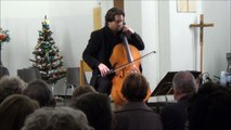"Alexandre Debrus (cello) plays ""Mosaïques"" Opus 24 from Eric Feldbusch / LIVE."