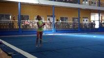 Paloma Cabial - ingreso a elite - ( aro ) - estadio Boca Juniors - 25-04-15
