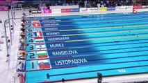 demi-finales 100m NL F - ChE 2016 natation (Bonnet, Cini)
