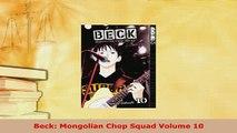 PDF  Beck Mongolian Chop Squad Volume 10 Ebook